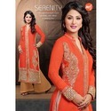 Long Suit with Plazo Salwar