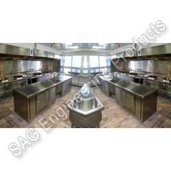 Stainless Steel Kitchen Display Counter