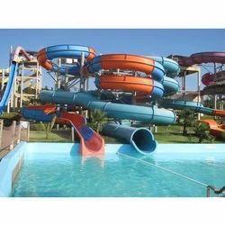 Spiral Water Park Slide