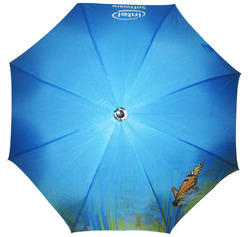Printed Royal Blue Umbrella