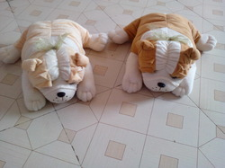 Bull Dog Soft Toy