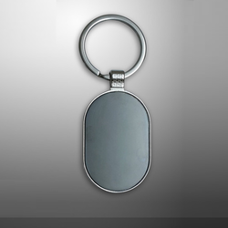 Oval Shape Key Chain