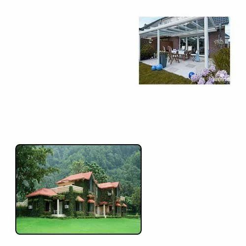 Terrace Awnings for Resort