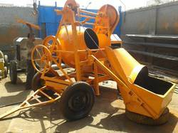 Concrete Mixer Machine Hopper Type