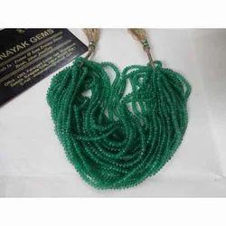 Emerald Micro Plain Beads