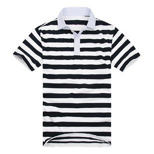 66a5a290 Polo T-Shirts - Mens Polo Collar Stripped T Shirt Manufacturer from ...
