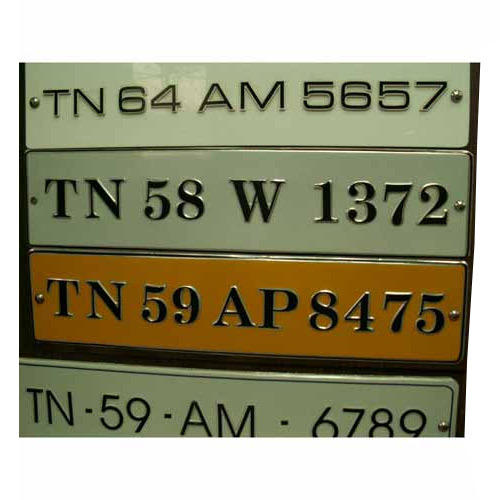 Number Plate Suppliers >> Embossed Number Plates View Specifications Details Of