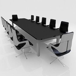 Conference Room Table In Coimbatore Tamil Nadu Conference Hall - Black conference room table