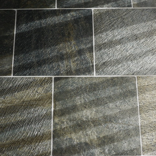 Black Slate Stone Flooring Tiles Thickness 15 20 Mm