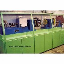 Horizontal Cotton Covering Machine