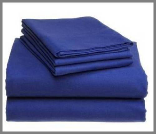 Microfiber And Polyester Hospital Bed Sheets, Size: 36