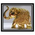 Gold Plated Elephant