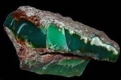 Chrysophase Gemstone