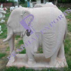 Marble Handicraft Elephant