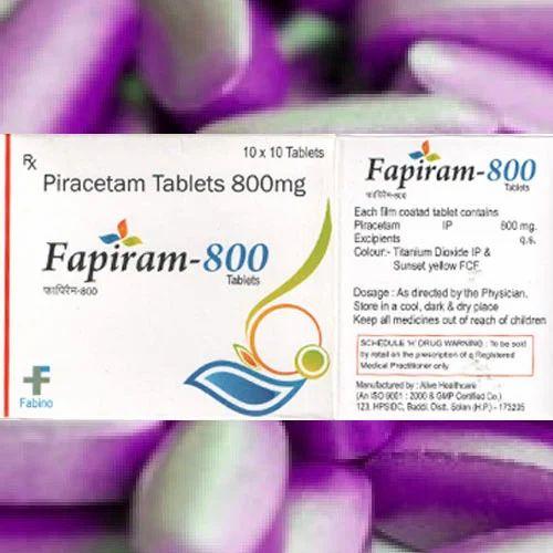 Zuche Pharmaceuticals Piracetam 800 Mg Tablets Packaging Type