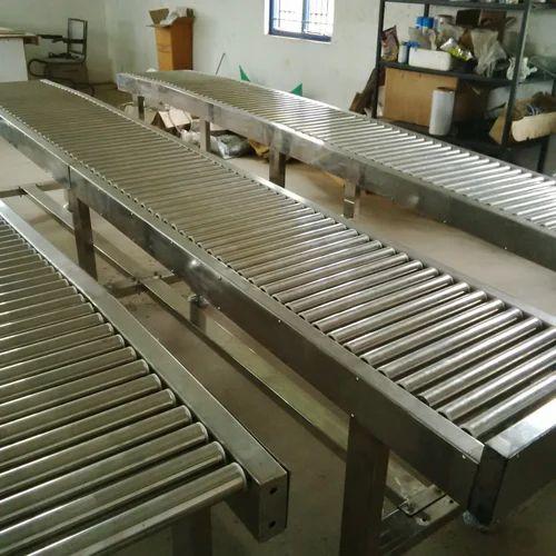 Roller Conveyors - Powered Expandable Roller Conveyor Manufacturer
