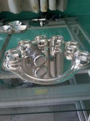 Silver Moon Thali Set