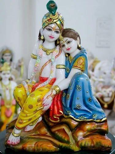Marble God Radha Krishna Murti View Specifications