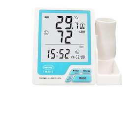 Thermo Hygrometer with Pen Stand