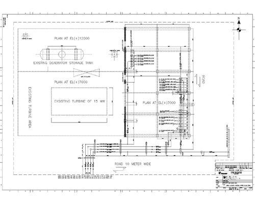piping layout drawings services