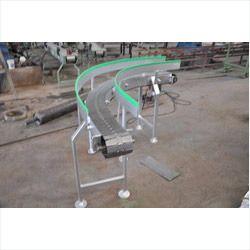 90 Degree Angle Slat Chain Conveyor