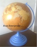 Nautical Globe With Colored Base