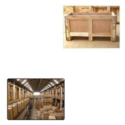 Packaging Wooden Box for Warehousing