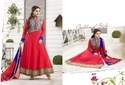 Red Anarkali Bridal Suit