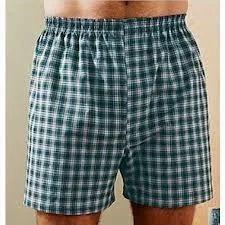 Men's Checked Shorts
