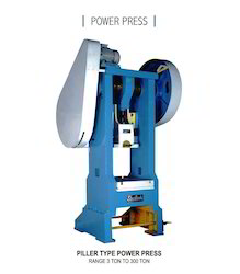 30 Ton Pillar Type Power Press 21/2'' St.