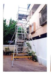 Scaffolding Aluminum Tower Ladder