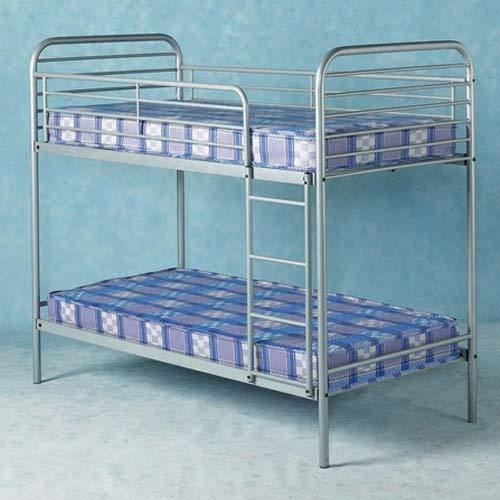 Steel Double Decker Beds : Stainless Steel Bunk Bed, Stainless Steel Furniture  Adithya ...