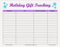Holiday Tracking
