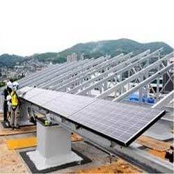 Solar Panel Mounting Structure In Hyderabad Telangana