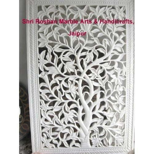 White Marble Staircase Jali Size 3 X 9 Inch Rs 4500
