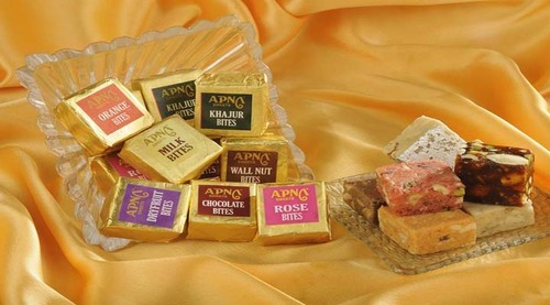 Indian Sweets Chocolate Kaju Bite Sweet Manufacturer