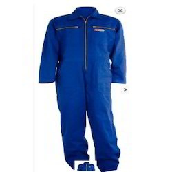 Overall Blue Safety Suit