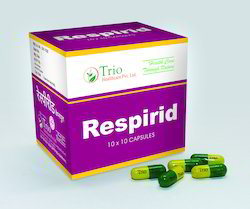 Herbal Anti Asthmatic Respirid Capsule