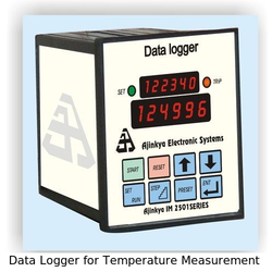 Data Logger for Temperature Measurement