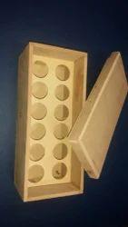 Wooden Nailpaint box