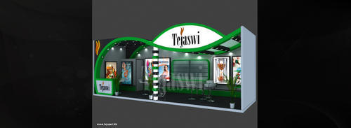Stall Size For Exhibition : Exhibition stall design india