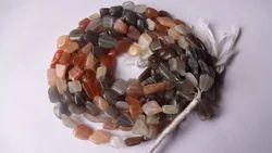 Multi Moonstone Tumbled Beads