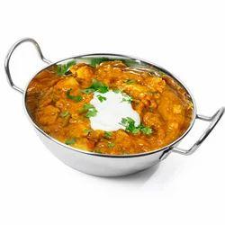 Stainless Steel Balti Dish, For Hotel/Restaurant, Capacity: Standard