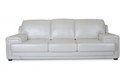 Modern White Three Seater Sofa Set, Seating Capacity: 3 Seater, Living Room