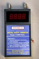 Powerblast Digital Safety OHM Meter