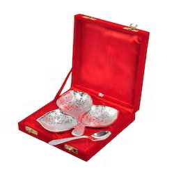 Bowls Set Silver Plated