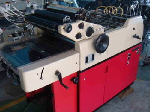 hamada mini offset hamada 612 offset press printing machines rh indiamart com Hamada Printing Press hamada 600 service manual