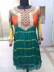 Batik Silk Kurtis