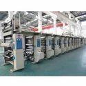 High Speed Computerized Rotogravure Printing Machine