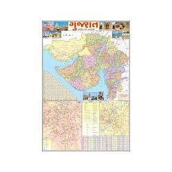 Gujarat State Educational Map, Geography Learning For Map | Shastri ...